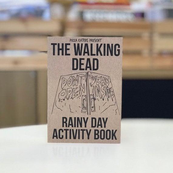 Rainy Day Colouring Activity Book