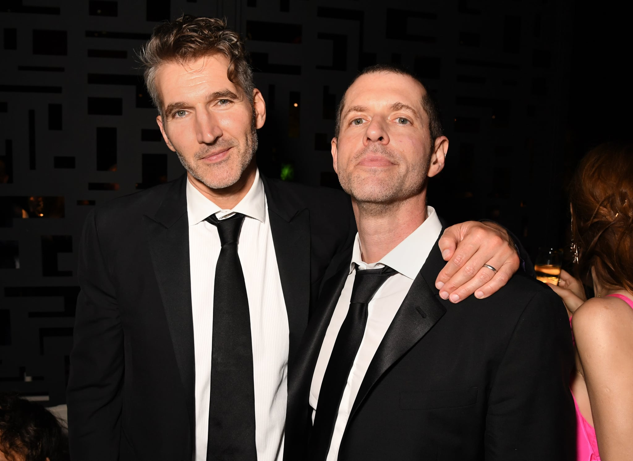 LOS ANGELES, CALIFORNIA - SEPTEMBER 22: (L-R) David Benioff and D.B. Weiss attend HBO's Official 2019 Emmy After Party on September 22, 2019 in Los Angeles, California. (Photo by Jeff Kravitz/FilmMagic for HBO)
