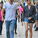 Diane Kruger polished off the Summer staple with a breezy PJ top and a posh Hermes bag in tow.