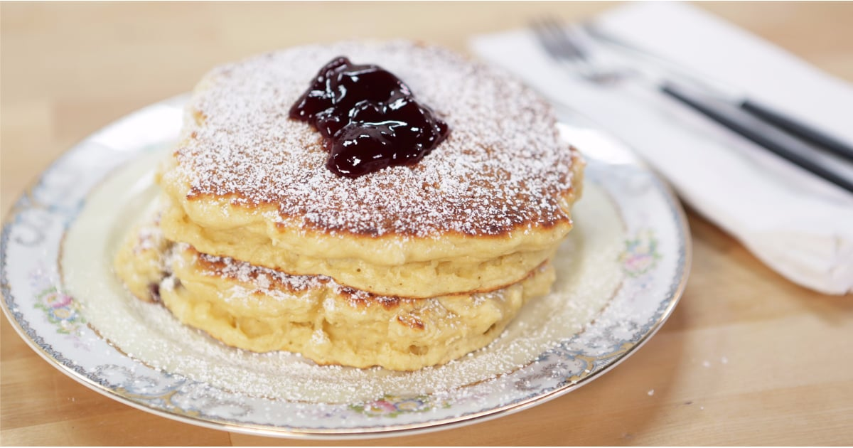 Jelly Doughnut Pancake Recipe | POPSUGAR Food