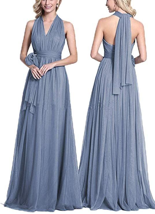 Dresspic Convertible Tulle Wedding Bridesmaid Dress