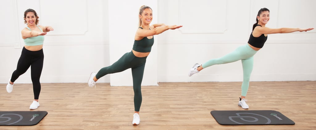 30-Minute Low-Impact Bodyweight Toning Workout From P.volve