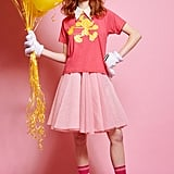 Pink & Yellow Polka Dot Mickey Tee