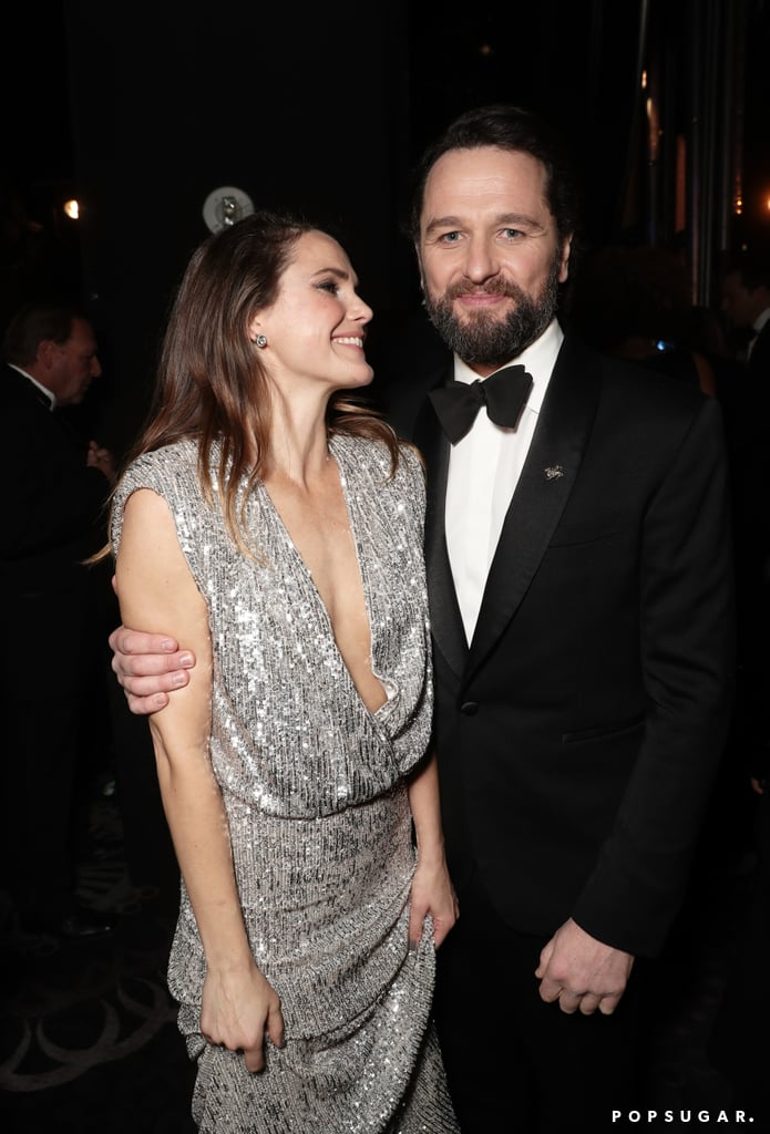 Pictured: Keri Russell and Matthew Rhys