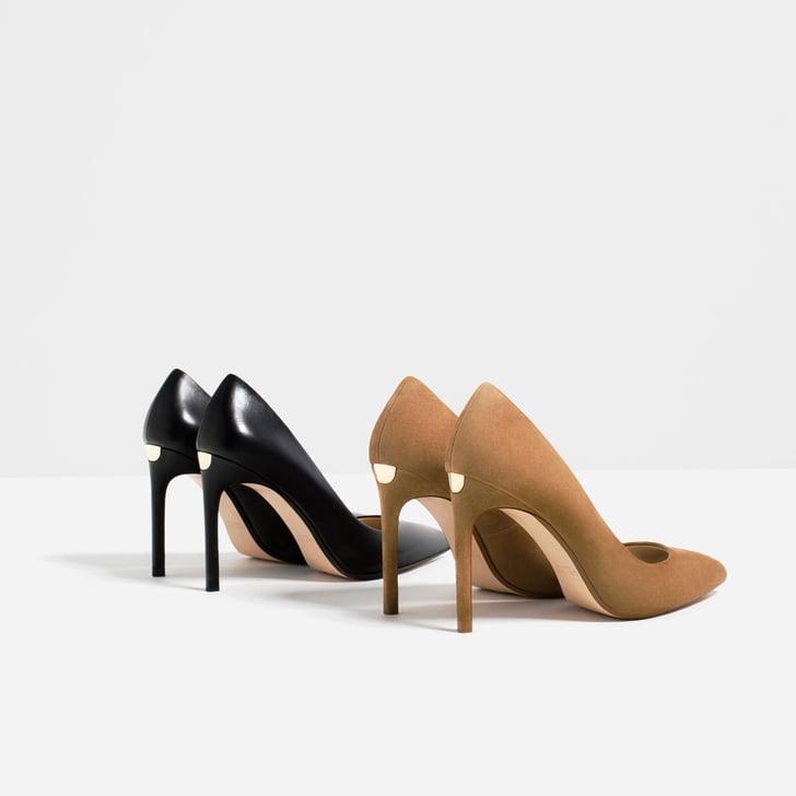 zara leather high heel shoes 70 kate middleton zara style popsugar fashion photo 12. Black Bedroom Furniture Sets. Home Design Ideas