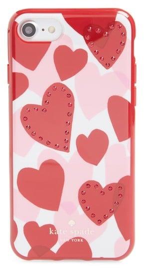 Kate Spade Crystal Heart iPhone 7/8 Plus Case