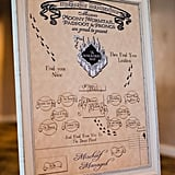 Harry Potter The Marauders Map Wedding Seating Chart