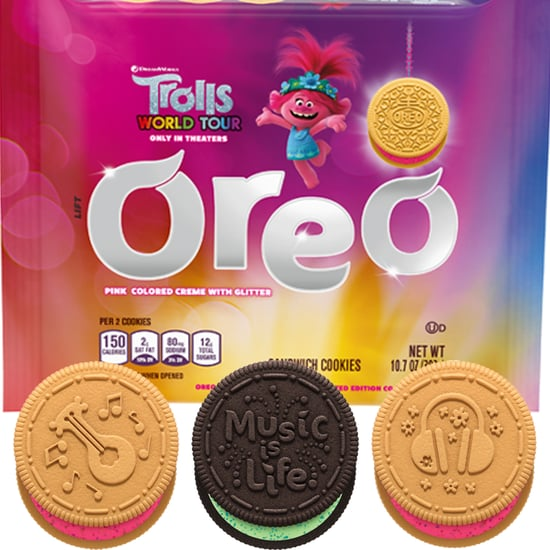 Oreo's Trolls Cookies Have Glittery Pink and Green Fillings