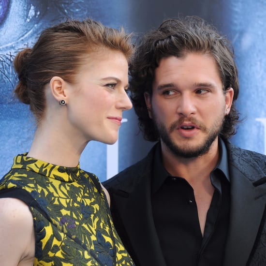 Rose Leslie Made Kit Harington Wear Jon Snow Costume