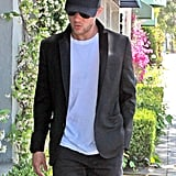 Ryan Phillippe Gets a Trim Then Joins His Crew For a Guys' Night Out