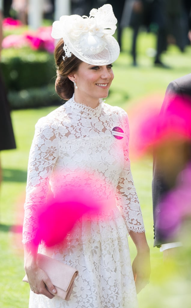 Kate Middleton Alexander McQueen Dress at the Royal Ascot