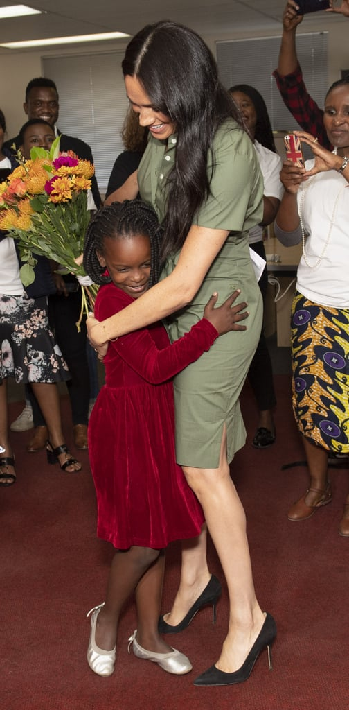 When She Accepted Flowers From a Little Girl in Johannesburg, South Africa