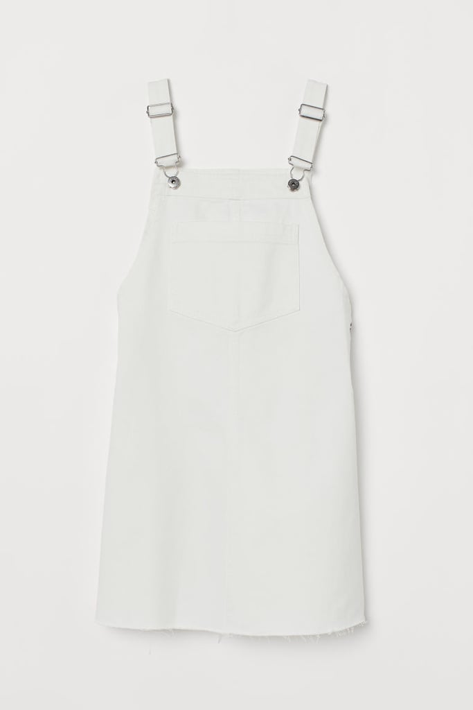 Denim Bib Overall Dress