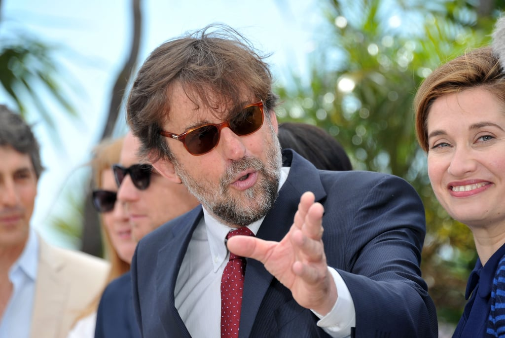 Director Nanni Moretti, the president of the jury, was present for the jury photocall at the Cannes Film Festival.