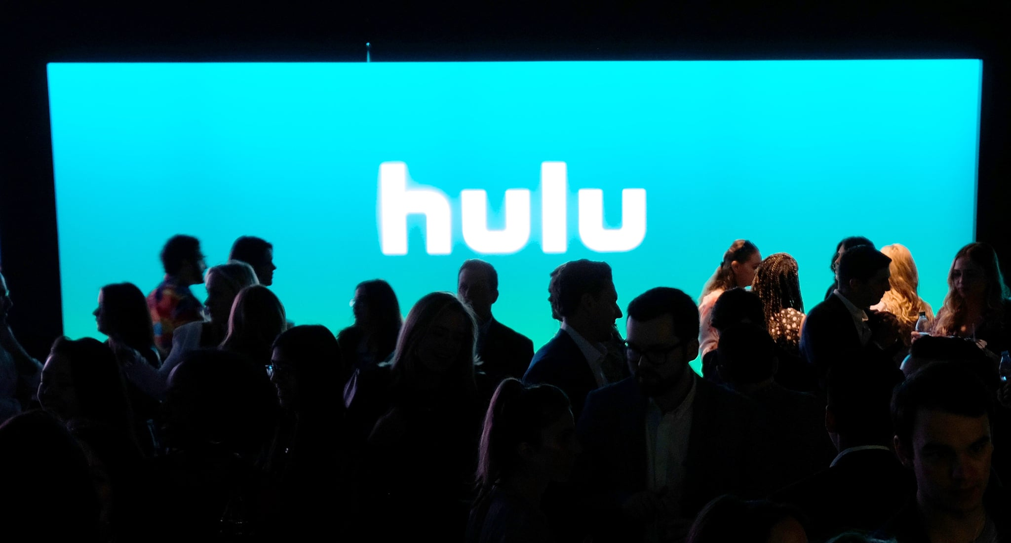NEW YORK, NY - MAY 02:  Guests enter the theatre during Hulu Upfront 2018 at The Hulu theatre at Madison Square Garden on May 2, 2018 in New York City.  (Photo by Dia Dipasupil/Getty Images for Hulu)
