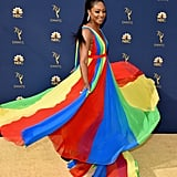 Tiffany Haddish Was Rainbow Bright at the Emmys