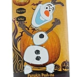 Pumpkin Push-Ins Disney Olaf Halloween Wooden Pumpkin Decoration