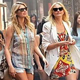 Thanks to the on-location shoot, we zoomed in on Cameron Diaz and Kate Upton's wardrobe as they filmed their scenes for The Other Woman all over NYC.