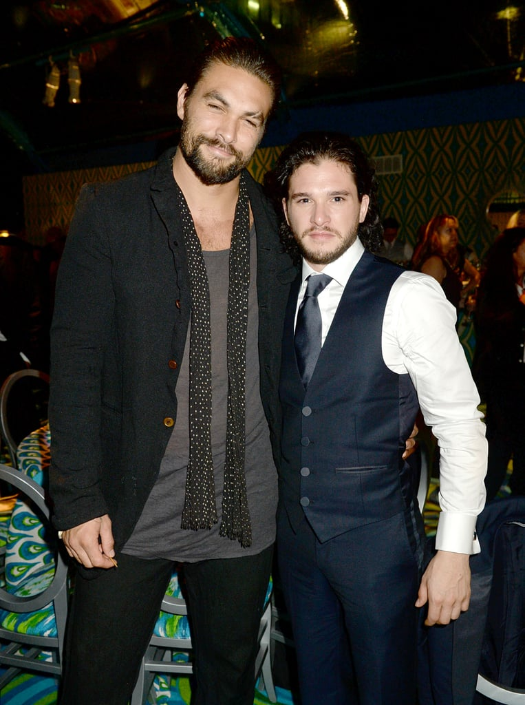 When Jason Held Onto Kit Harington Like a Little Lady