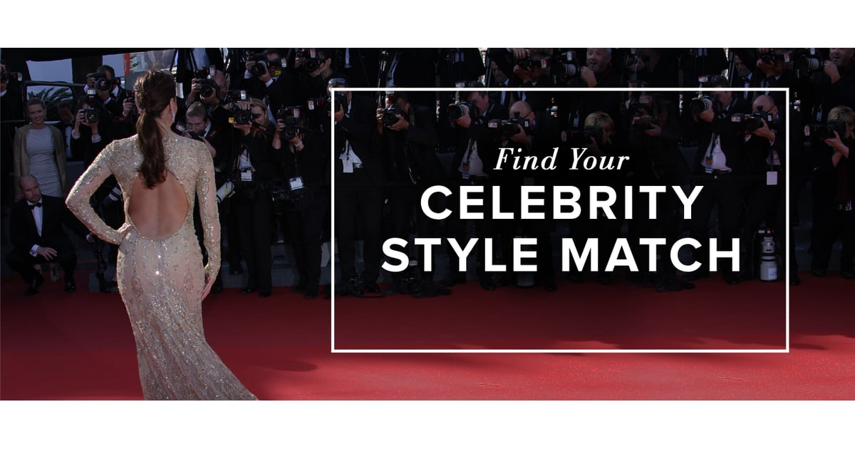 Find Your Celebrity Style Match Shopstyle Notes