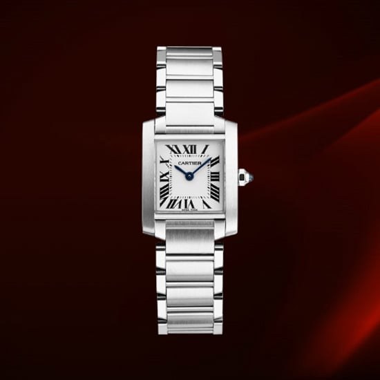 Cartier Tank Française Watch, Small Model, $4,700