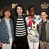 Stranger Things Cast at 2017 MTV Movie and TV Awards