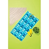 All Over Dolphins Beach Towel Blue