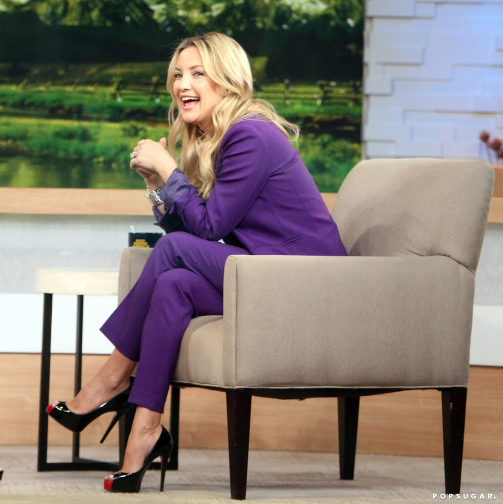 Kate Hudson chatted with Robin Roberts.