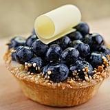 Blueberry Honey Creme Pie
