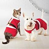 Pet Holiday Santa Pajamas
