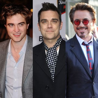Pop Quiz on Famous Robs Including Robert Pattinson, Robbie Williams, Robert Downey Jr