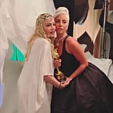 Lady Gaga and Madonna at the 2019 Oscars Afterparty