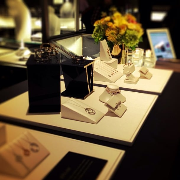 Tiffany & Co. unveiled its Atlas collection in front of a chic set. Source: Instagram user tiffanyandco