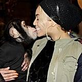 Beyoncé got cute with a monkey. Source: Tumblr user Beyoncé Knowles