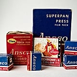 That font! The colorblocking! Consider this vintage Ansco film the inspiration for my future website. Source: Etsy user CraftBangBoom