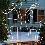 Pre-Lit Whimsical Reindeer