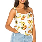 Song of Style Lana Top in White Fruit from Revolve.com