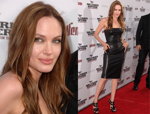 Photos of Angelina Jolie at Inglorious Basterds Premiere