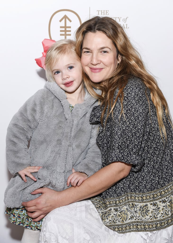 Drew Barrymore and Daughter at Society of MSK Event 2017