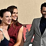 Pictured: Juliette Lewis, Jennifer Garner, and David Tennant