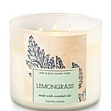 Lemongrass candle ($25)