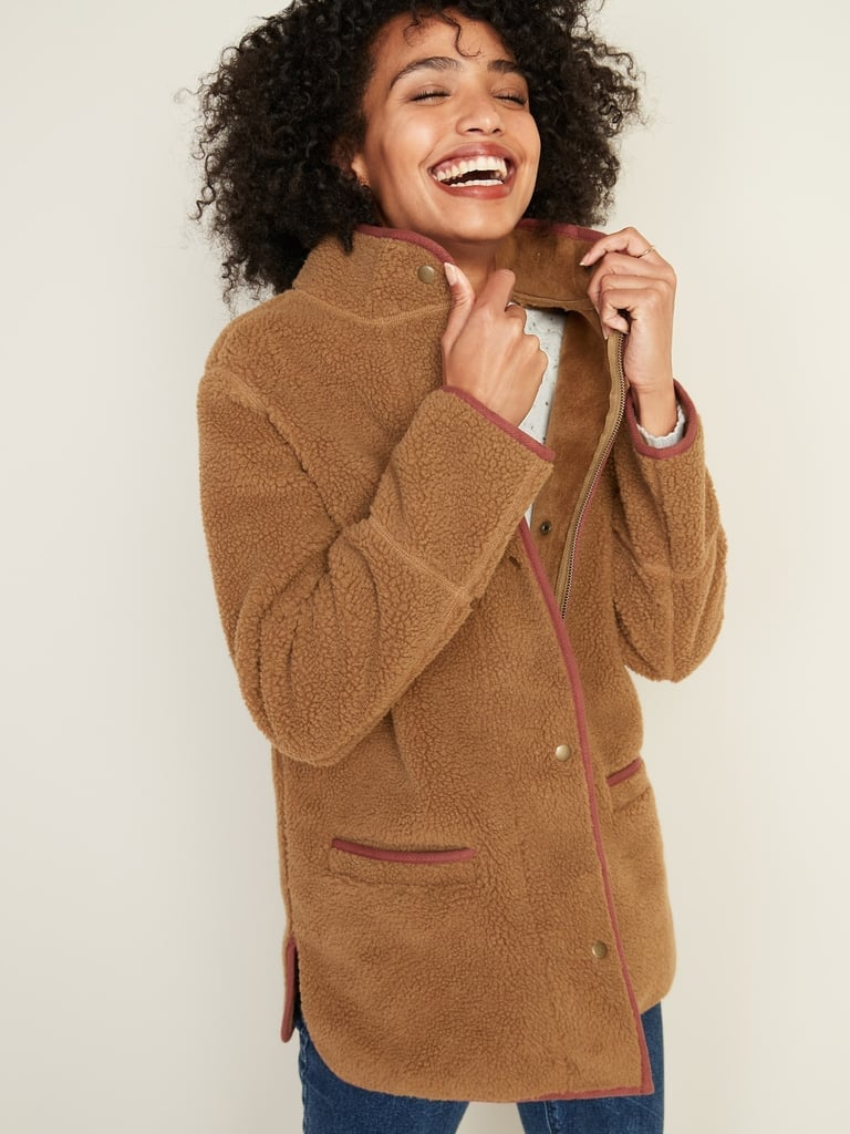 Old Navy Sherpa Coat For Women