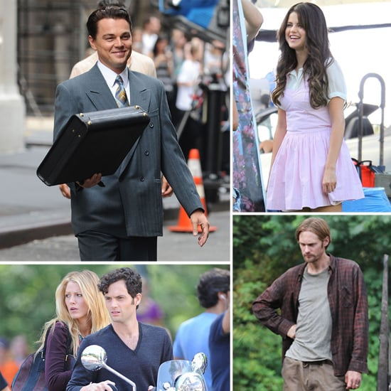Leonardo DiCaprio, Selena Gomez, Blake Lively, and More Stars on Set