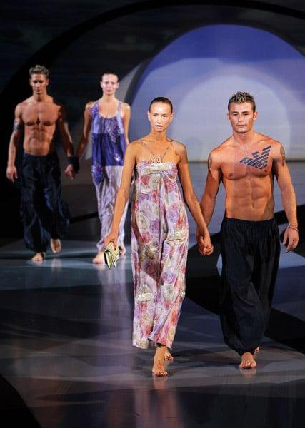Milan Fashion Week: Emporio Armani Spring 2009