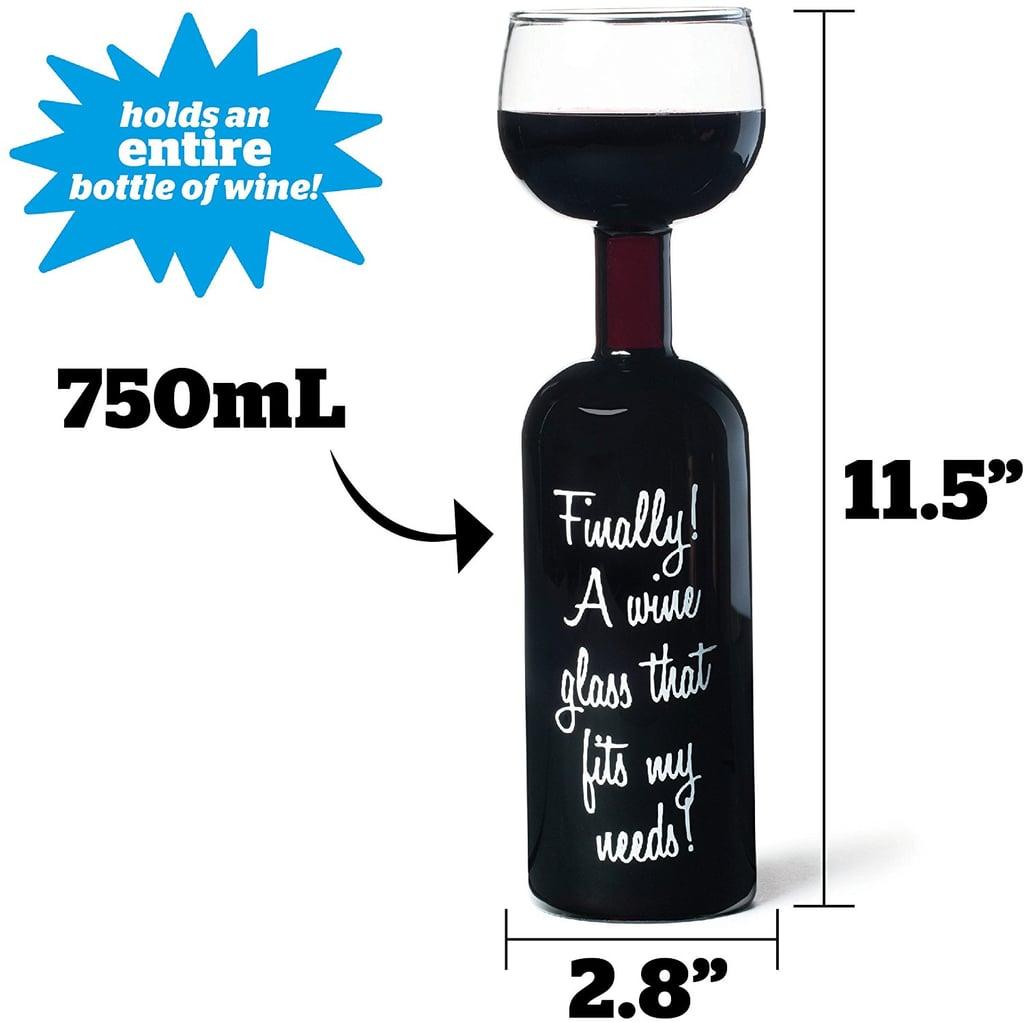 BigMouth Inc Ultimate Wine Bottle Glass