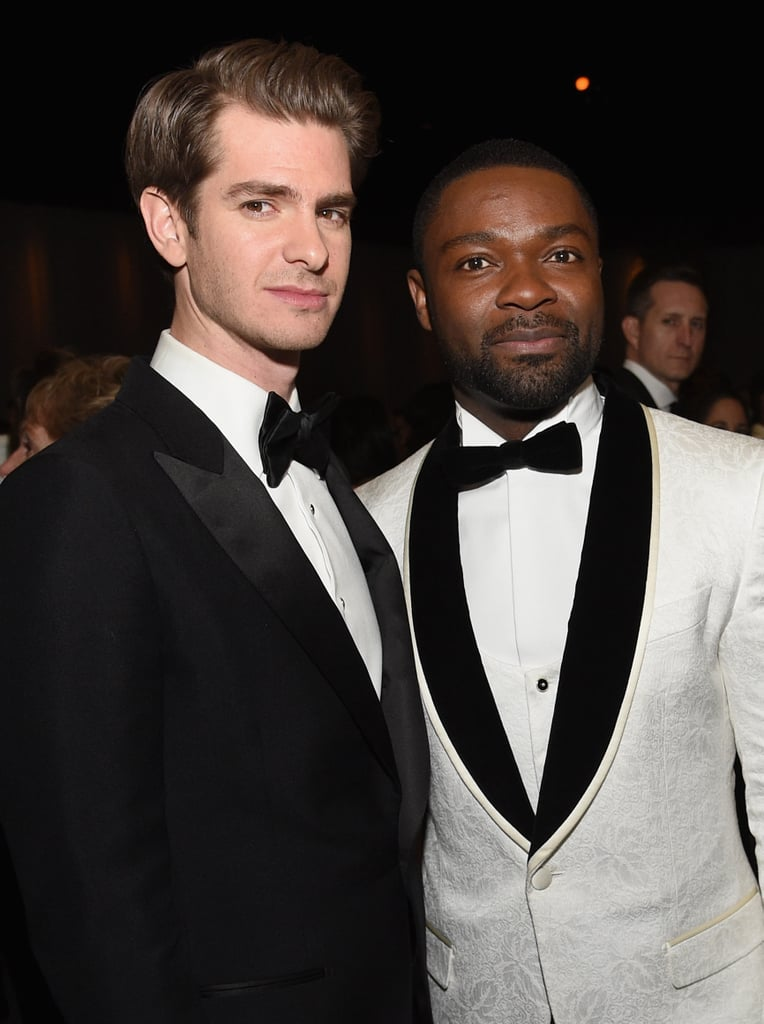 Pictured: Andrew Garfield and David Oyelowo