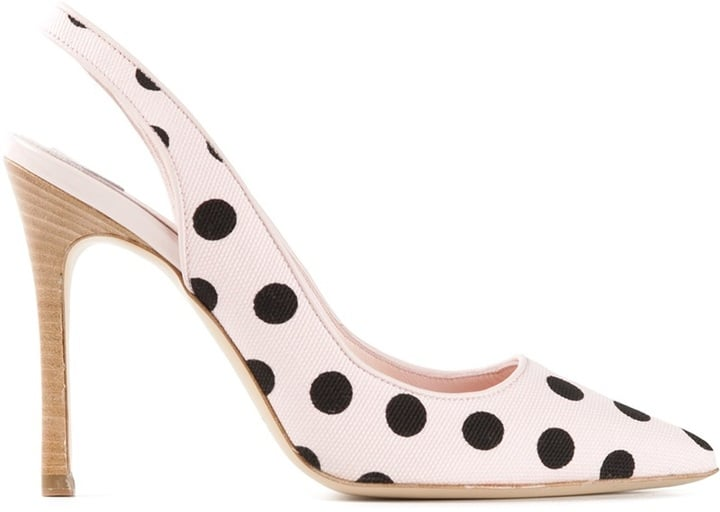 Hogan by Katie Polka-Dot Pumps