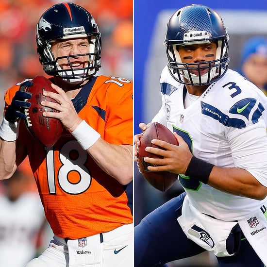 Peyton Manning and Russell Wilson Pictures