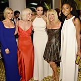 Pictured: Natasha Bedingfield, Jordin Sparks, Brandy, Ellie Goulding, and Suzanne Somers