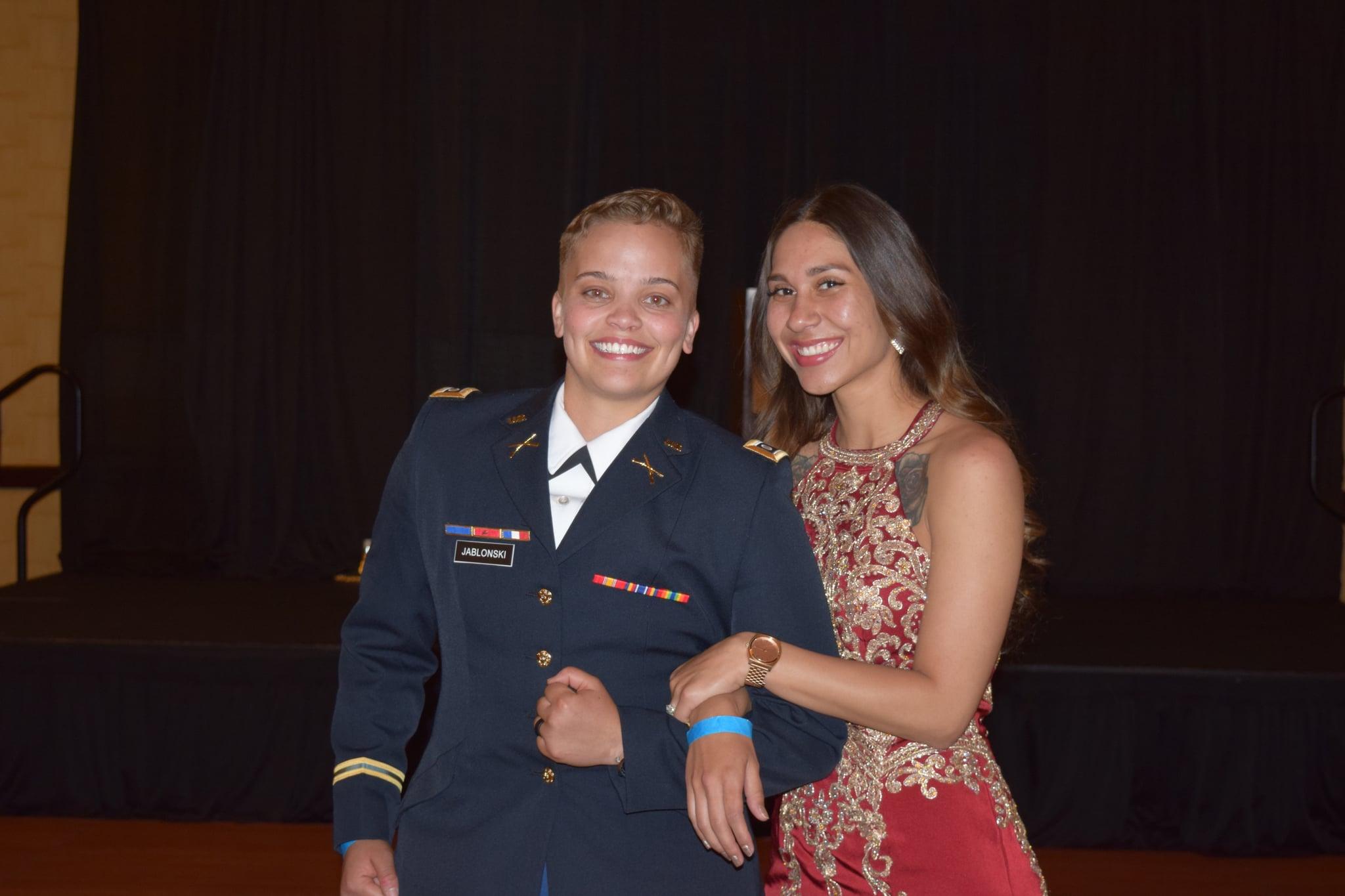 Cadet Jablonski and Guest / Caitlin Bell
